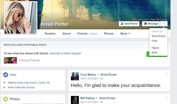 report Kristi Porter